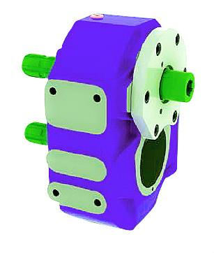 Gearboxes Multiplier for Hydraulic gear pump system