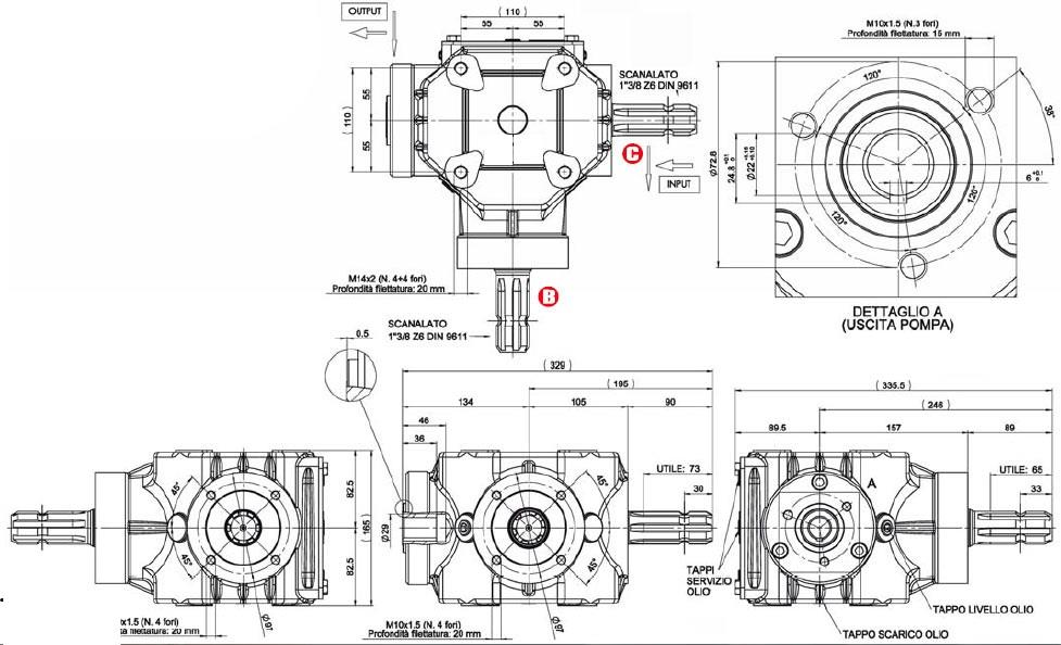 Gearbox for Rotary Cultivators-8