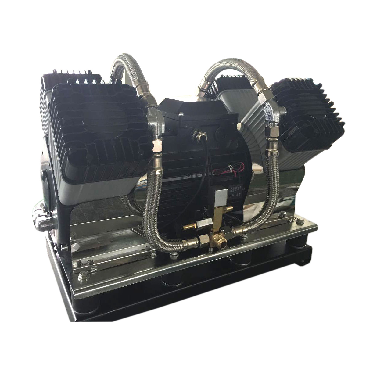 Piston type oil-free Air Compressor