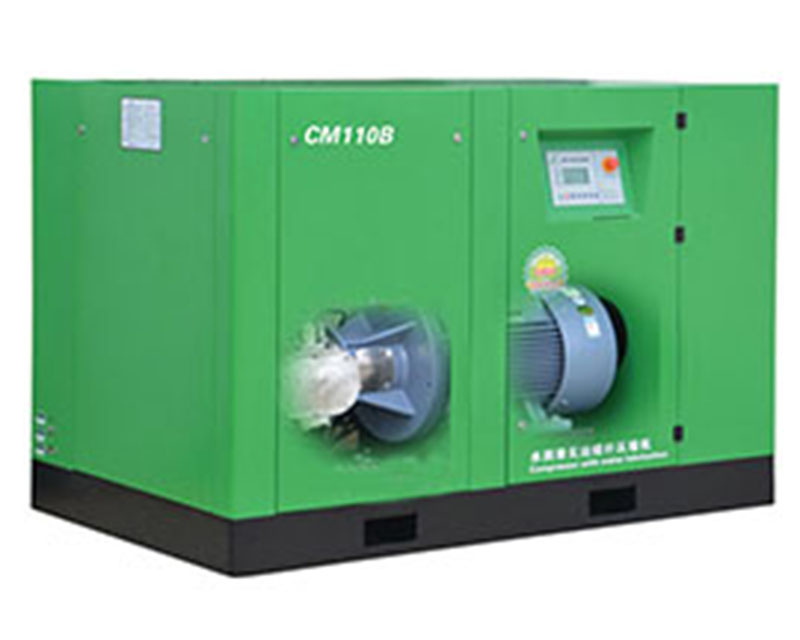 oil-free screw air compressor china
