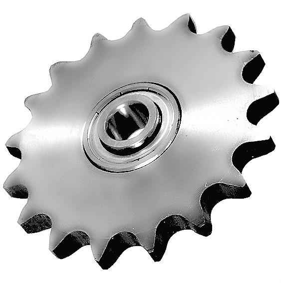 Chain Tensioning Wheels With Ball Bearings