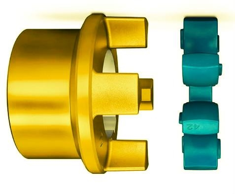 Elastic Coupling Torsionally Flexible Jaw Sleeve And Shear Pin