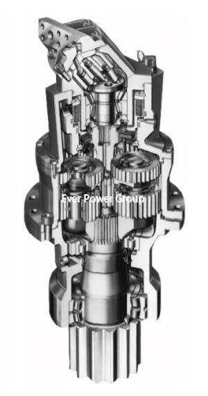 hydraulic swing drive motor31273523439