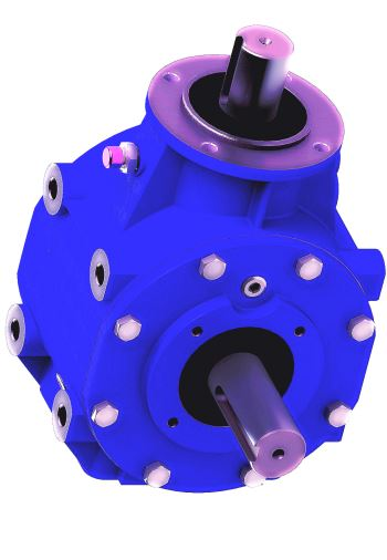 Agricultural Gearbox For Offset Mowers
