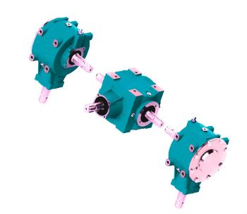 Agricultural Gearbox For Vineyard And Orchard Grass Cutters