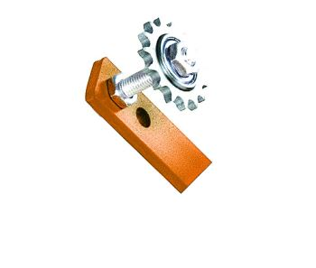 ARM STYLE ROLLER CHAIN TENSIONER