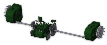 Gearbox And Axles For Agricultural Equipment
