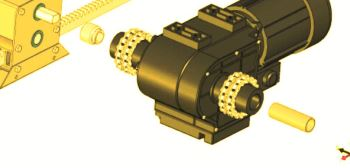 Gearbox Reducer For Climate Screens Drive System