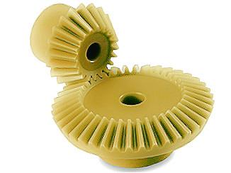 Injection Molded Bevel Gears Duracon
