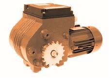 WORM GEARBOXES GW80 FOR GREENHOUSE