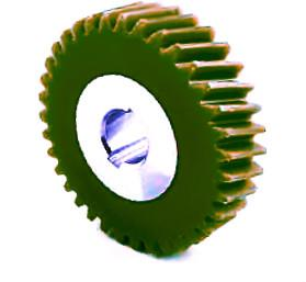 Plastic Spur Gears With Steel Core