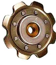 STAMPED IDLER SPROCKETS